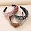 Thumbnail: Faux Pearl Cross Knot Headband