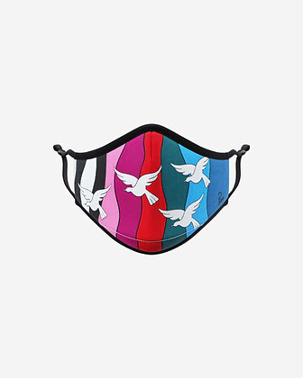 The Birds by Parra Face Mask