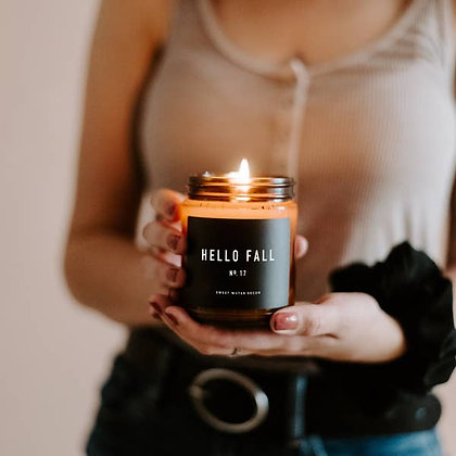Sweet Water Decor - Hello Fall Soy Candle