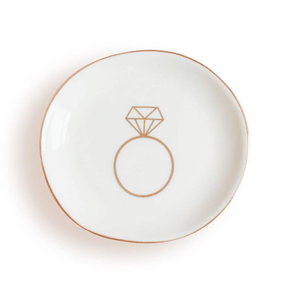 Engagement Ring Jewelry Dish by Sweet Water Decor®