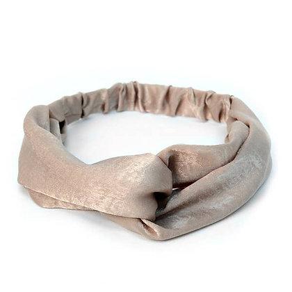 Criss Cross Tan Headbands - Selini NY