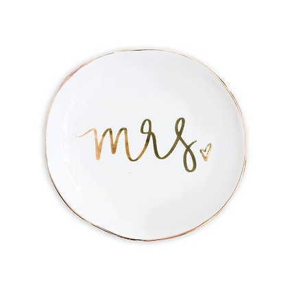 Mrs. Jewelry Dish by Sweet Water Decor®