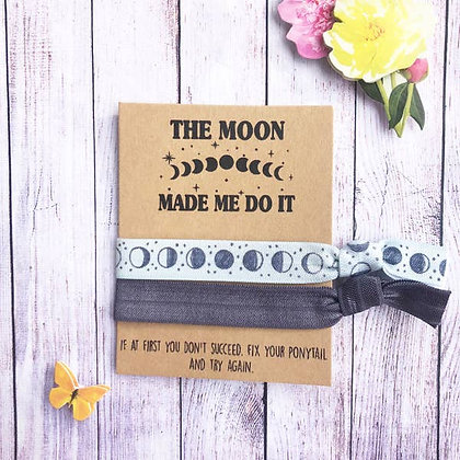 The Moon Made Me Do It Hair Tie Set - Wishlets