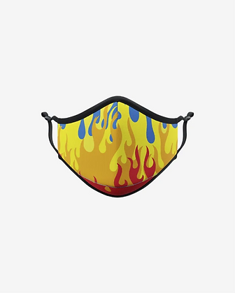 Flames Face Mask