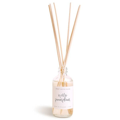 Sweet Water Decor - Hello Pumpkin Reed Diffuser