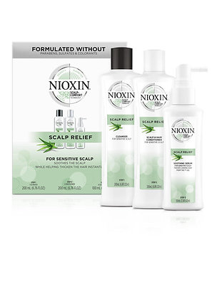 Scalp Relief Kit for Sensitive, Dry and Itchy Scalp
