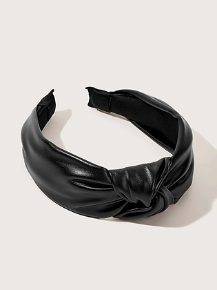 Simple Faux Leather Headband