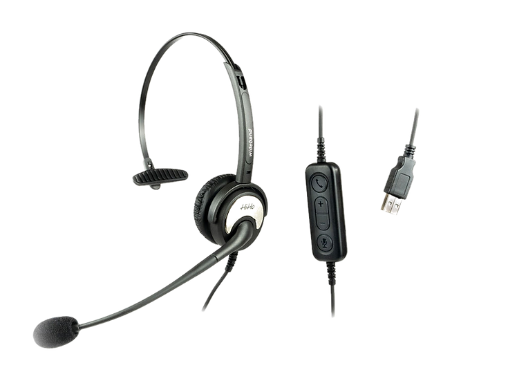 HiHo 150U- Monaural Noise Cancelling with USB