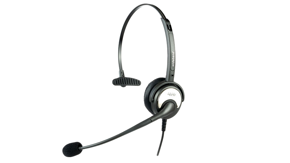HiHo 100P Monaural Noise Cancelling with QD
