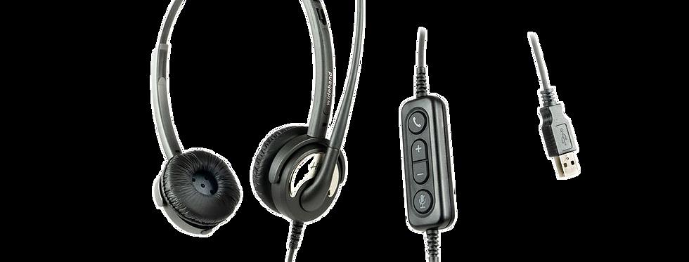 HiHo 250U -USB Binaural