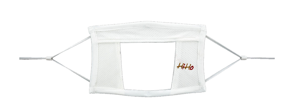 HiHo Transparent See-Through Mask