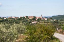 The village of San Pancrazio