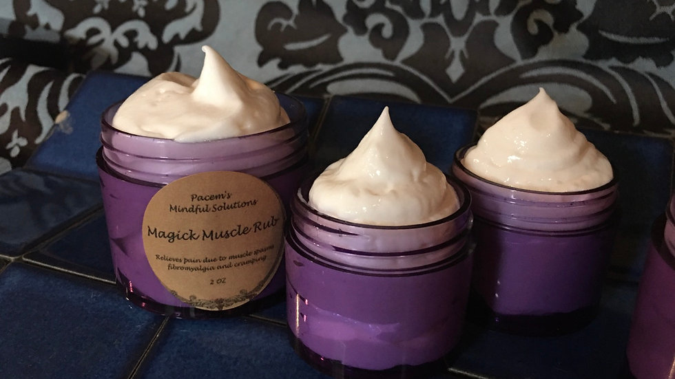 Magick Muscle Rub