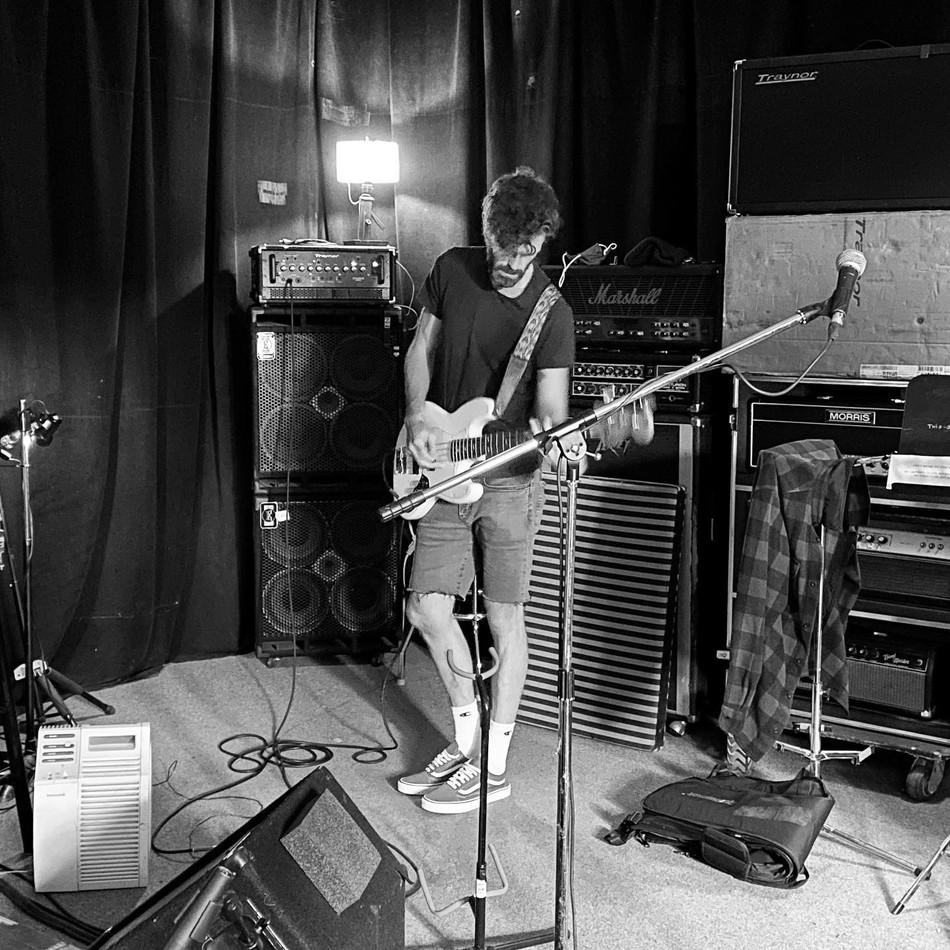 Cian at rehearsal