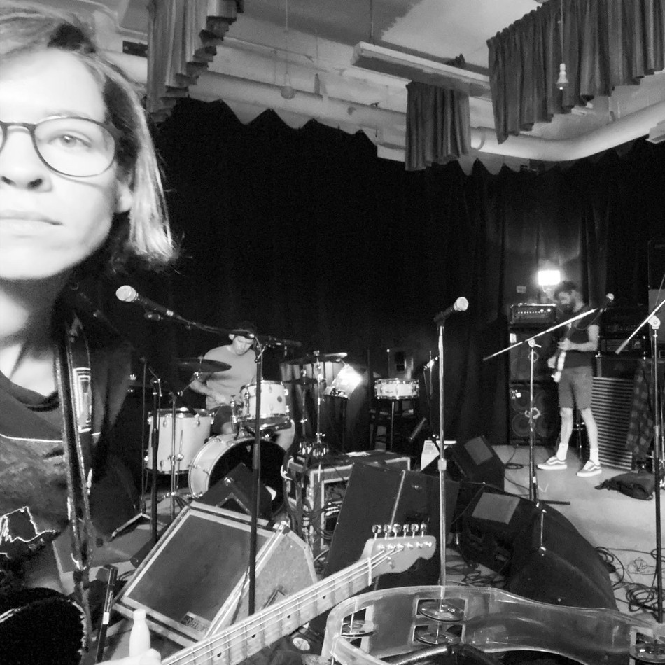 Mai at rehearsal