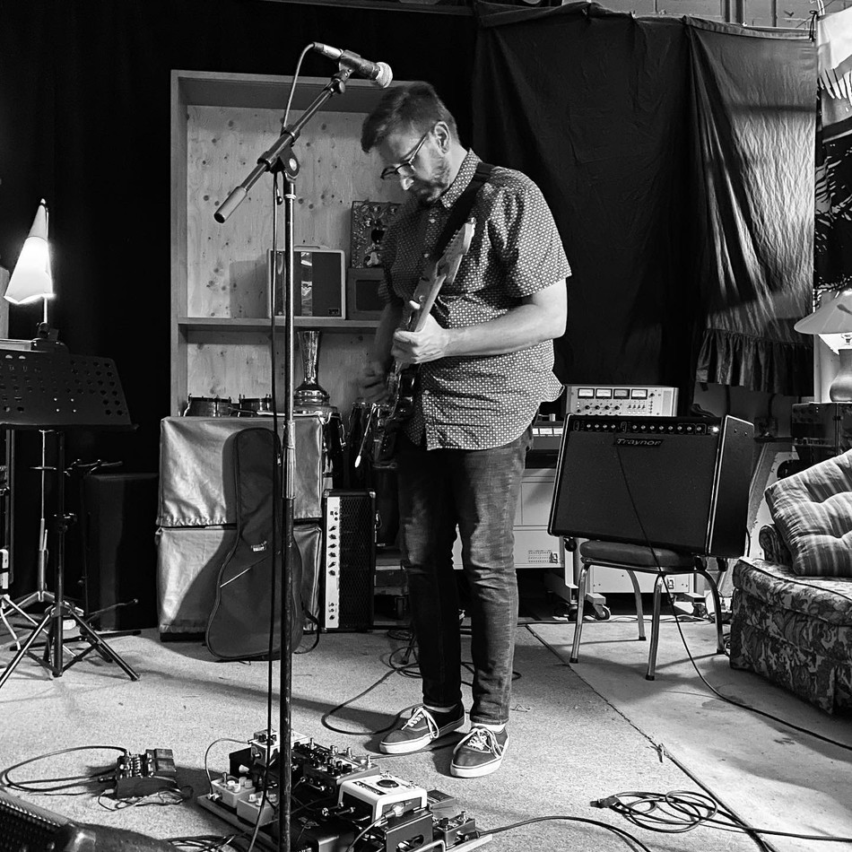 Colin at rehearsal