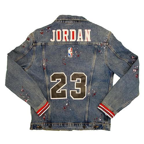 Veste jean NBA Michael Jordan