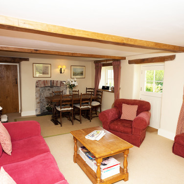 Penrhiw Cottage Sitting and Dining Room