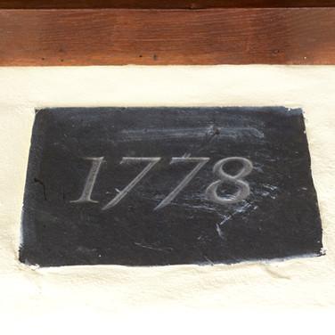 Penhriw Cottage House Sign