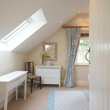 Penrhiw Blue Bedroom