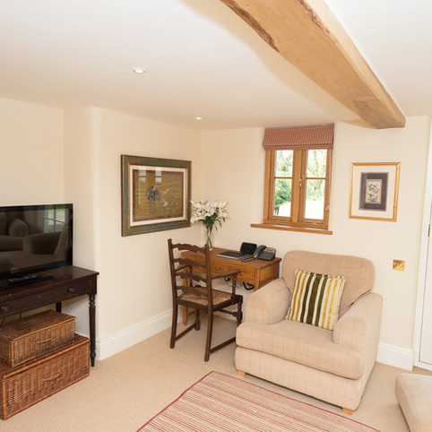 Country Cottage Study and TV Room