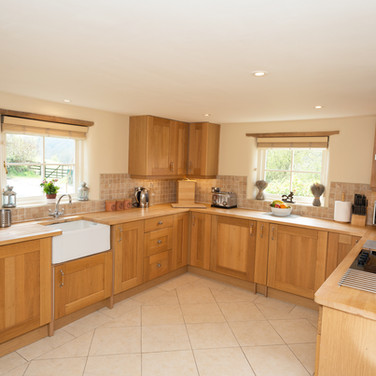 Penrhiw Self-Catering Cottage Kitchen