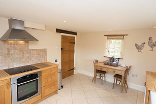 Kitchen pet friendly holiday cottage wales