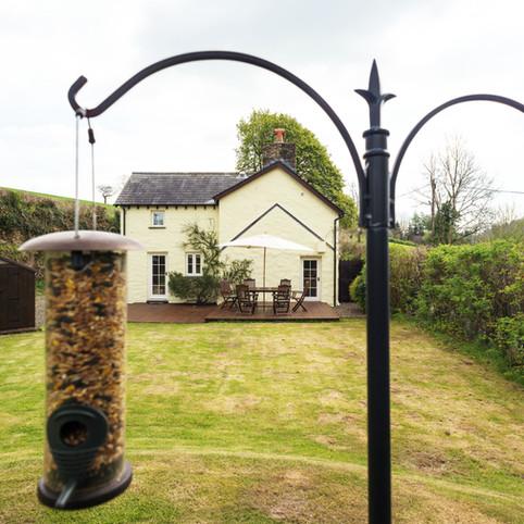 Penhriw Cottage Enclosed Garden View