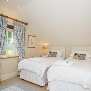 Family-Friendly Blue Bedroom