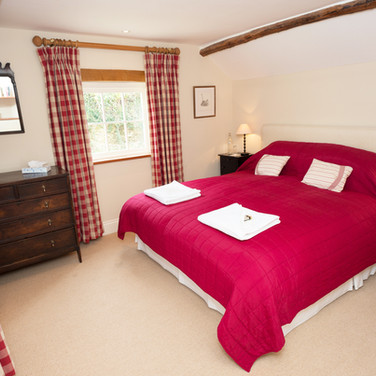 Penrhiw Red Bedroom