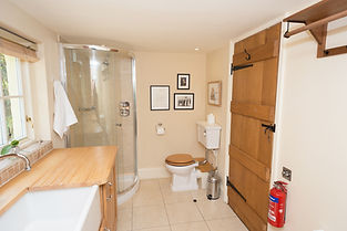 Laundry and Shower Room wales cottage rentals