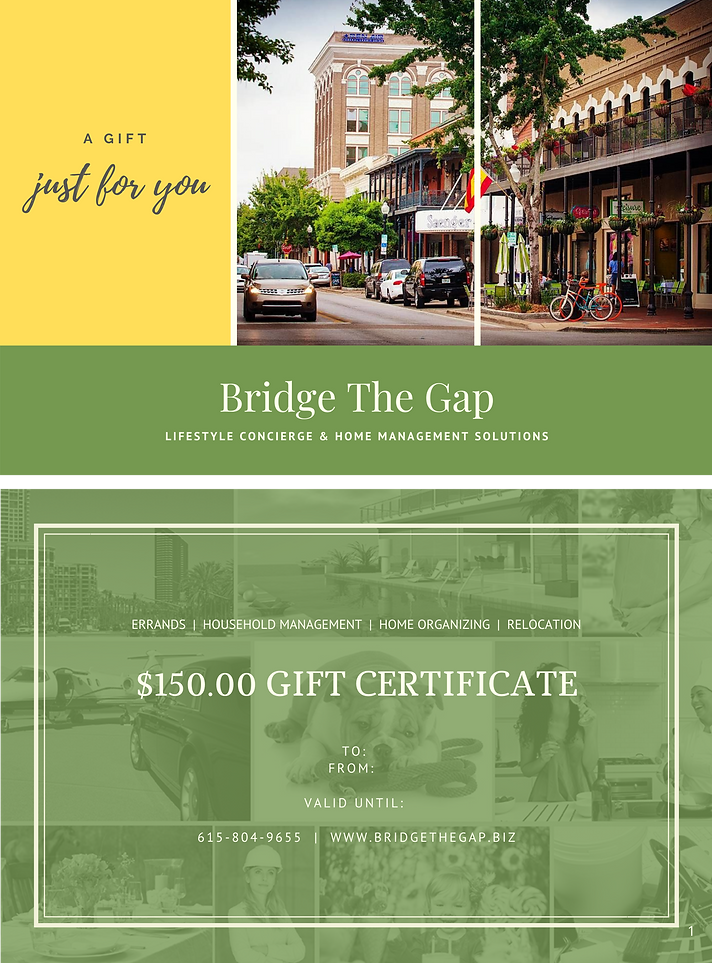 Bridge The Gap Gift Certificate 12-5-20.