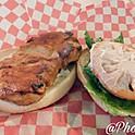Burger aux poulet grillé