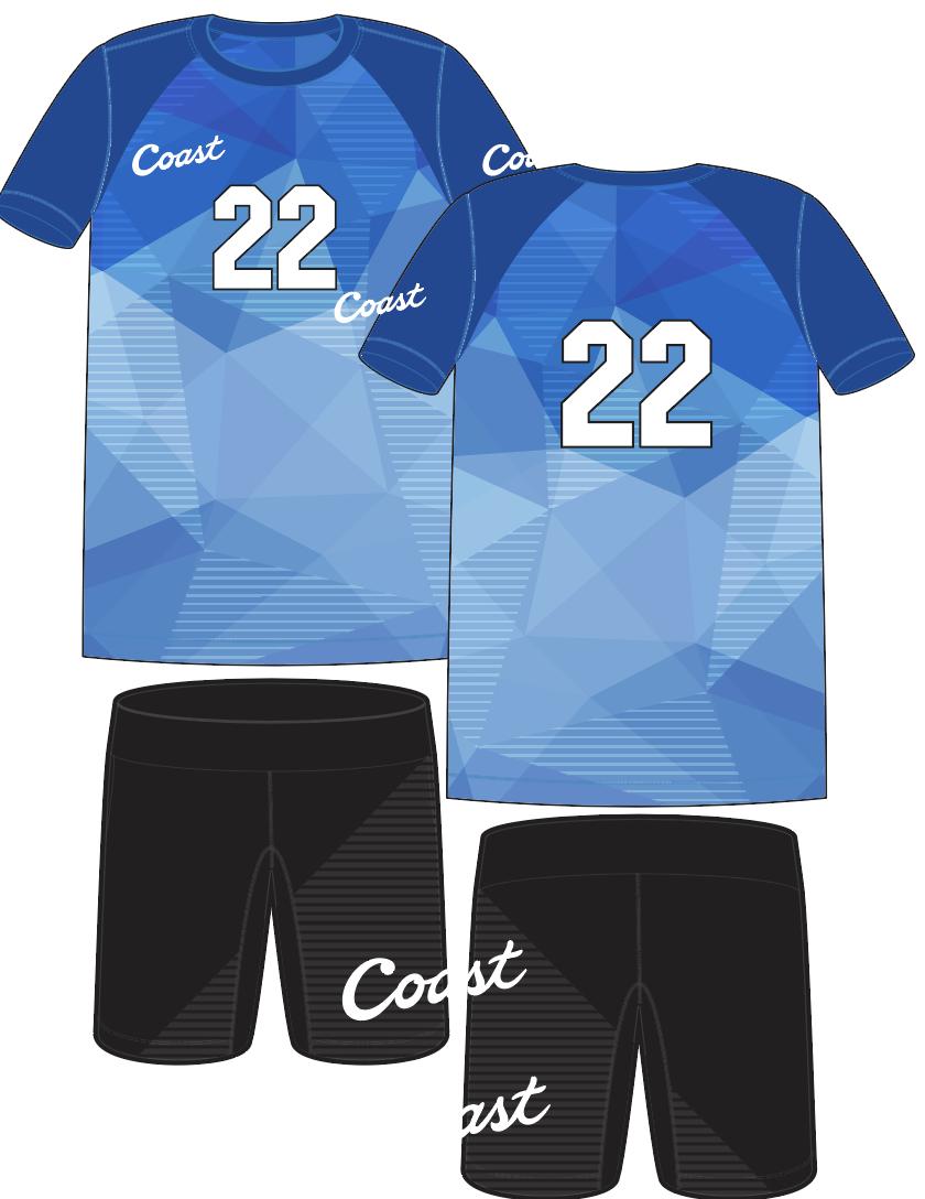 Coast Boys Custom Uniforms