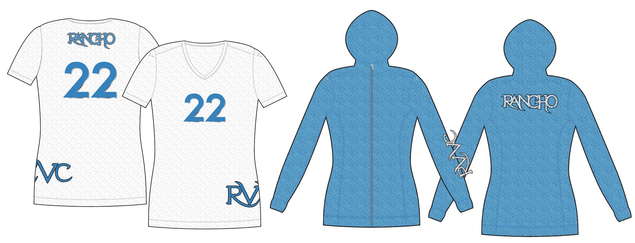 RVVC Custom Uniforms