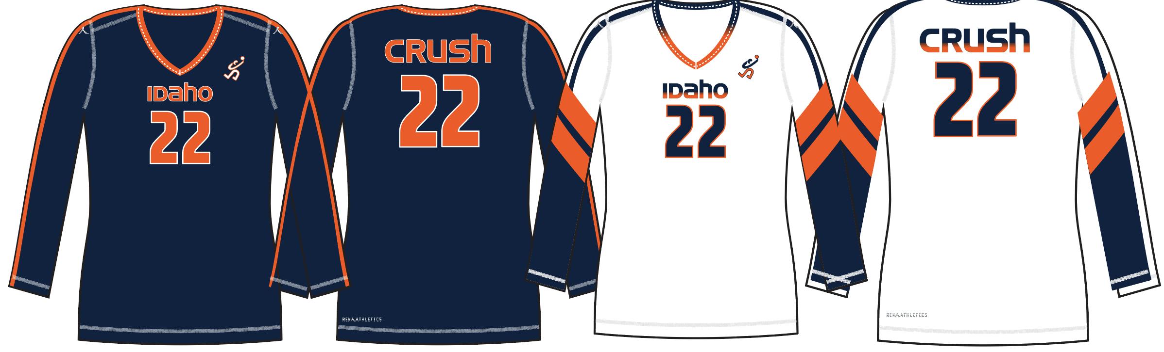 Idaho Crush Custom Uniforms