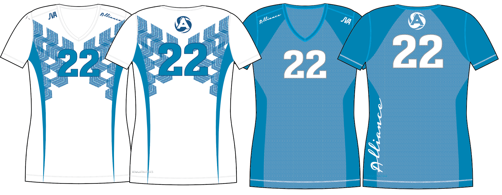 Alliance Volleyball Custom Uniforms