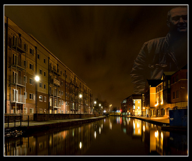 Rob overlooking Wigan