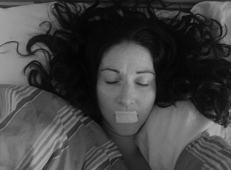 Tape Mouth Sleep Better