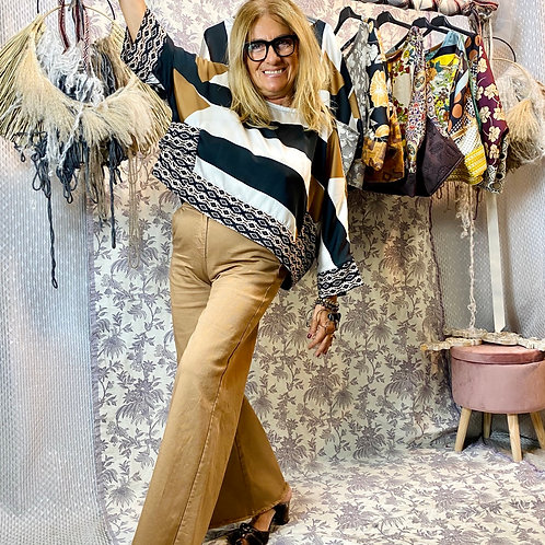 Jeans a palazzo - LUNGO