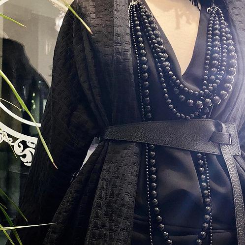 Collana perle  nere