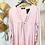 Thumbnail: Blusa in raso e jersey - scollo a V arricciato