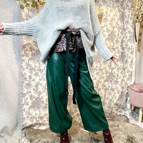 Pantalone a palazzo - ECOPELLE