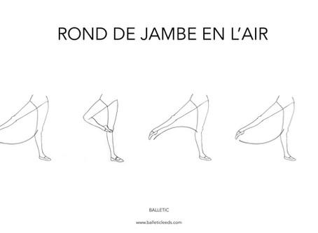 ROND DE JAMBE EN L'AIR