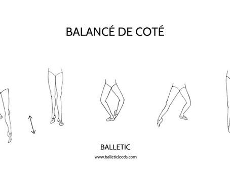 BALANCÉ DE COTÉ (Bringing the leg to the front)