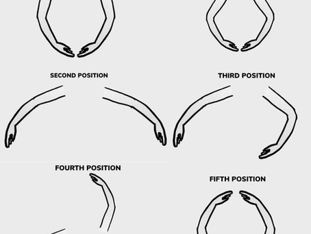 THE BASIC ARM POSITIONS IN BALLET