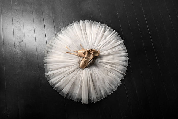 Pointe shoes. Peach shoes, ballet shoes