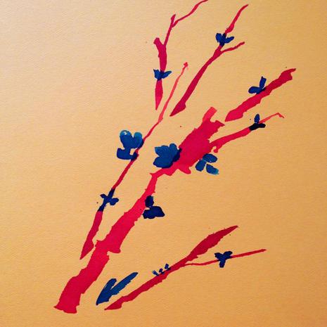 Cherry Blossom Study #4