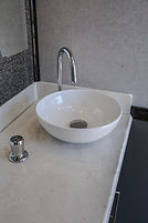 Luxury Loos restroom trailer sinks