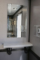 Vanity area in Womens restroom